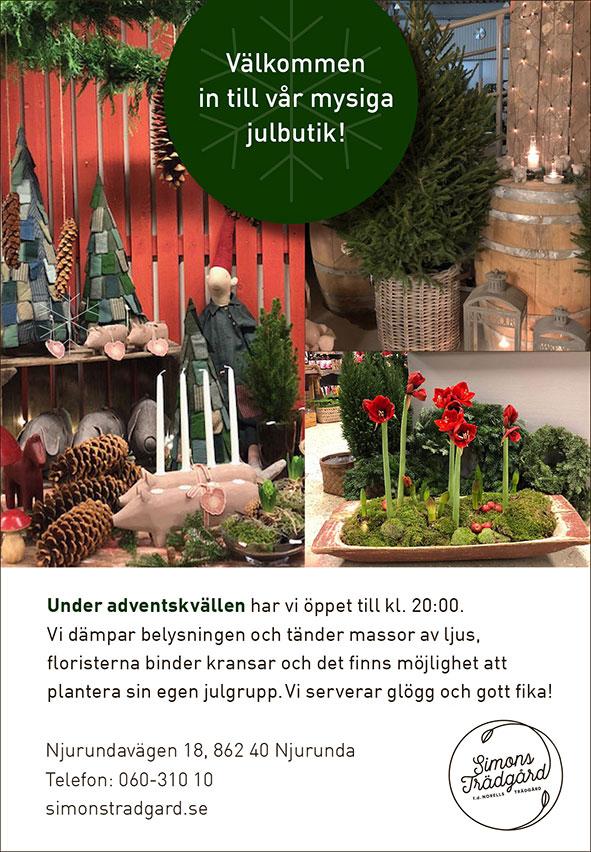 Jul Simons Trädgård